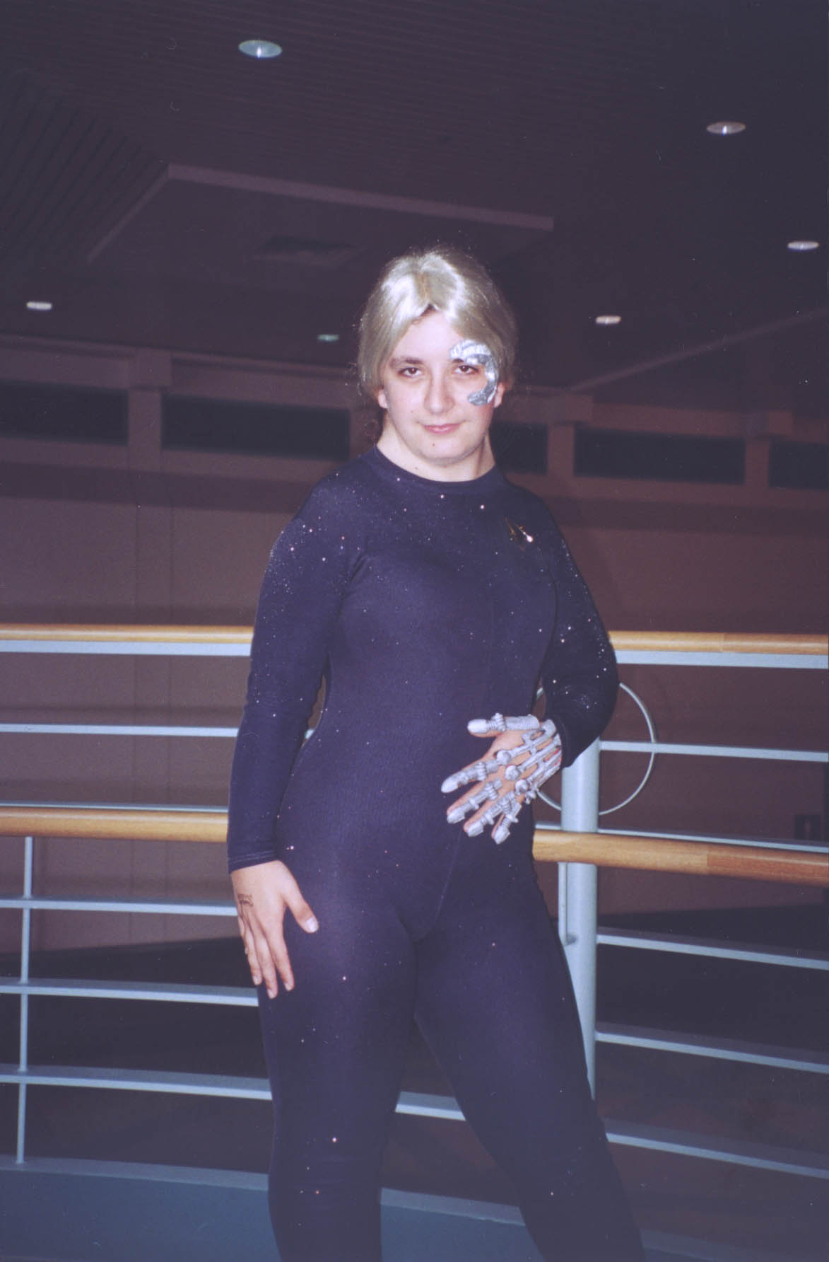Amiee  Jo   Former Voyagerliveaction member as Seven of Nine :)