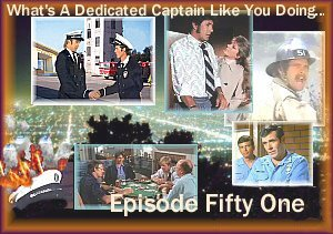 Produced in February- April 2008. Captains Roy and Johnny reflect the best and worst of their lives after Station 51. The last of the regular run episodes before the movie seasons start production on ETL.