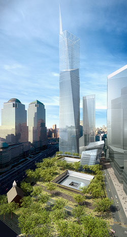 Click to see the winning tribute design for the New World Trade Center to come..