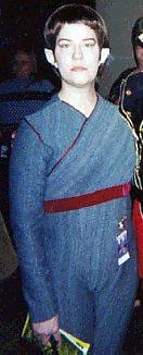 New character, for 2002, T'Pol from the new Series Star Trek Enterprise..